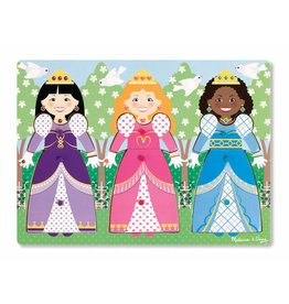 Melissa and Doug Peg Puzzle- Dress Up