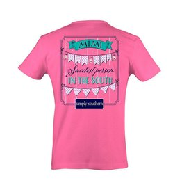 SS Simply Southern S/S Tee- Mimi