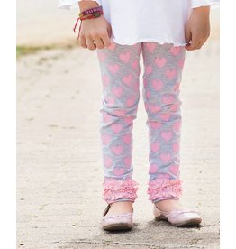 RuffleButts/RuggedButts Heart Ruffle Leggings