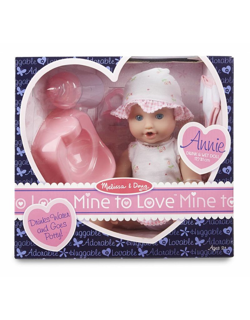 Melissa and Doug Melissa & Doug Annie Drink & Wet Doll