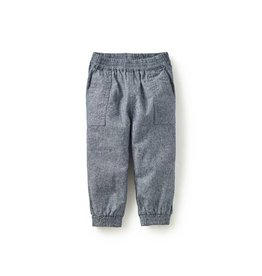 tea collection Chambray Baby Joggers