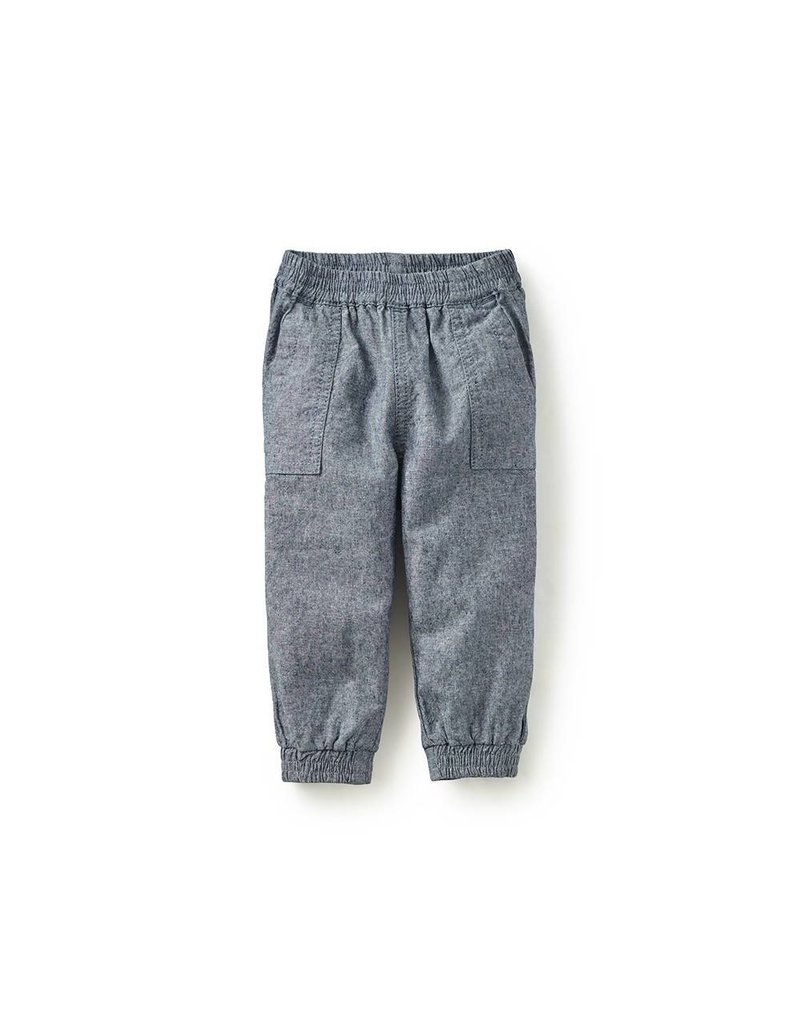 tea collection Tea Collection Chambray Baby Joggers