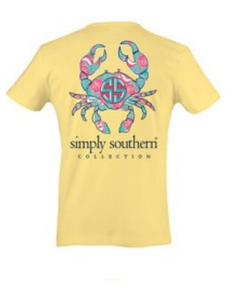 SS Simply Southern S/S Tee- Crab