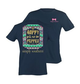 SS Simply Southern S/S Tee- Happy