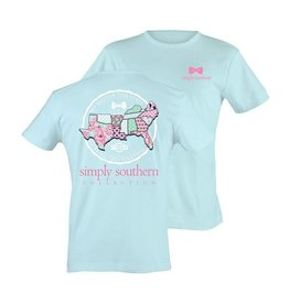 SS Simply Southern S/S Tee- Tied