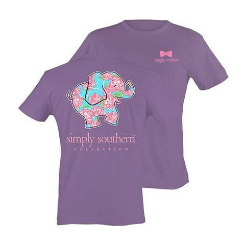 96f8dea34c2a9 Simply Southern Elephant Tee - Clementine Boutique