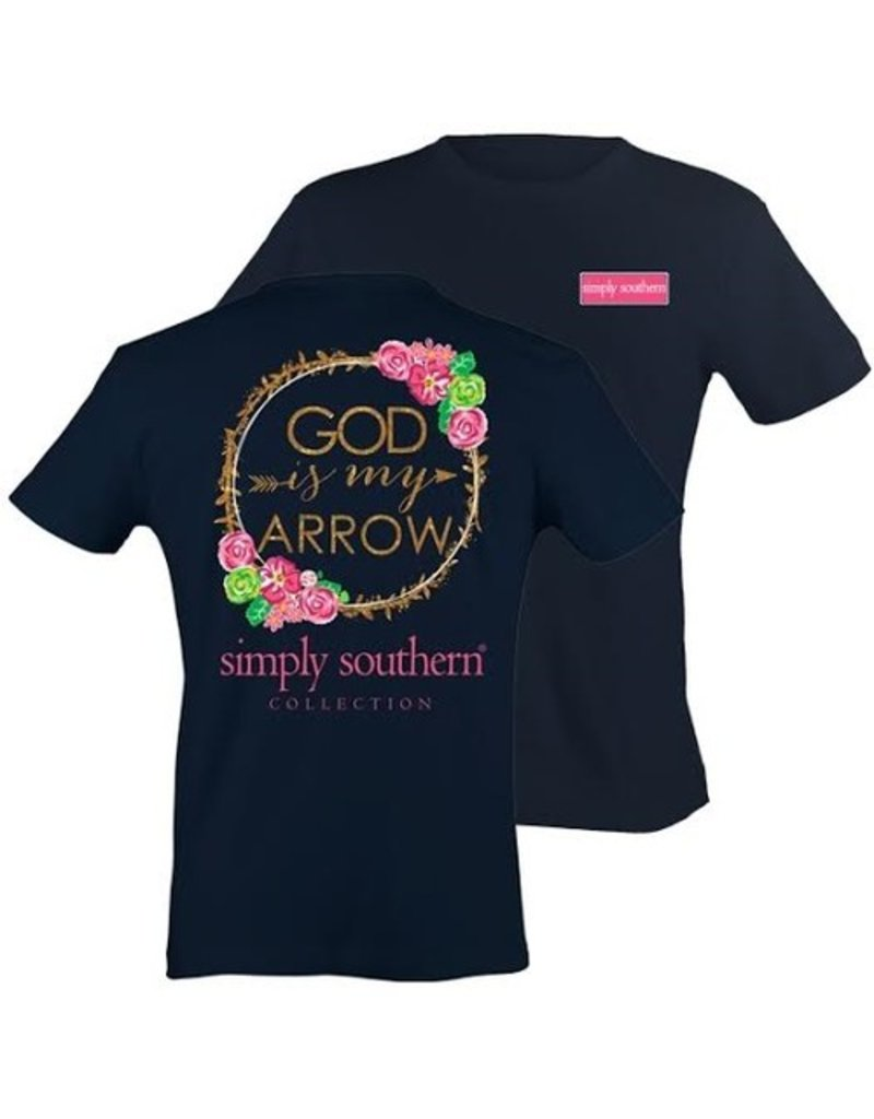 SS Simply Southern Youth Short Sleeve Tee- Arrow