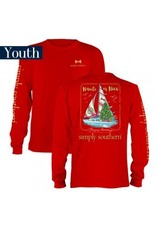 Simply Southern Youth Nauti or Nice Long Sleeve