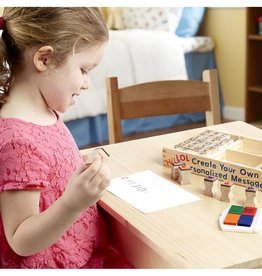 Melissa and Doug Wooden Stamp Set