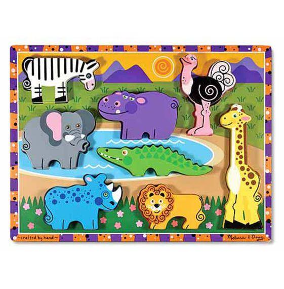 Melissa and Doug Melissa & Doug Chunky Puzzle