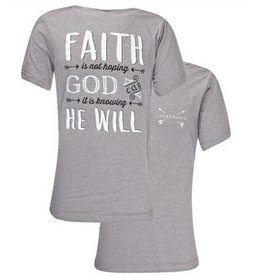 Southern Couture SC S/S Tee- Faith He Will
