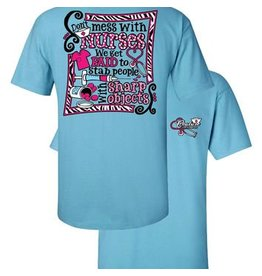 Southern Couture SC S/S Tee- Don't Mess With Nurses