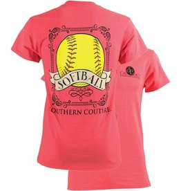 Southern Couture SC S/S Tee- Vintage Softball