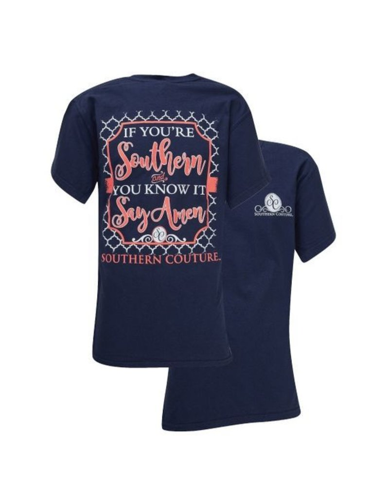 Southern Couture Southern Couture Short Sleeve Southern & You Know It Tee