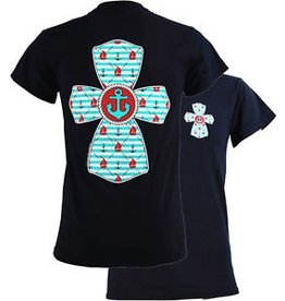 Southern Couture SC S/S Tee- Nautical Cross