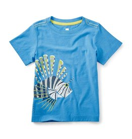 tea collection Lion Fish Graphic Tee