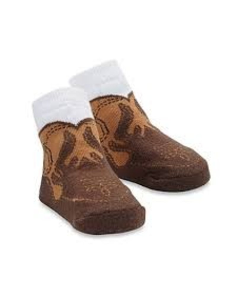 Mud Pie Mud Pie Cowboy Boot Socks