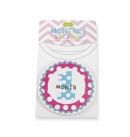Mud Pie MP Girl Milestone Stickers