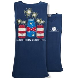 Southern Couture Mason Jar Sparklers Tank