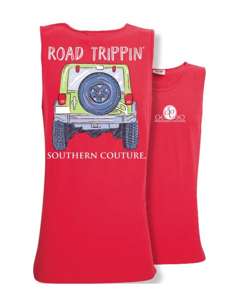 Southern Couture Southern Couture Tank- Road Trippin Tank