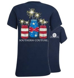 Southern Couture Mason Jar Sparklers Youth Tee