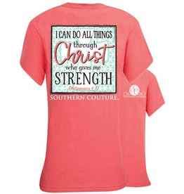 Southern Couture Do All Things Tee