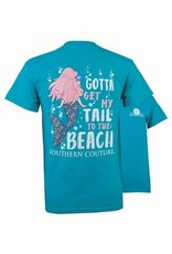 Southern Couture Southern Couture Short Sleeve Tee- My Tail
