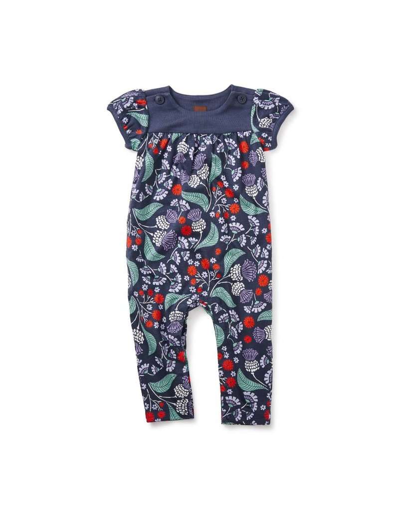 tea collection Tea Collection Thistle Button Romper