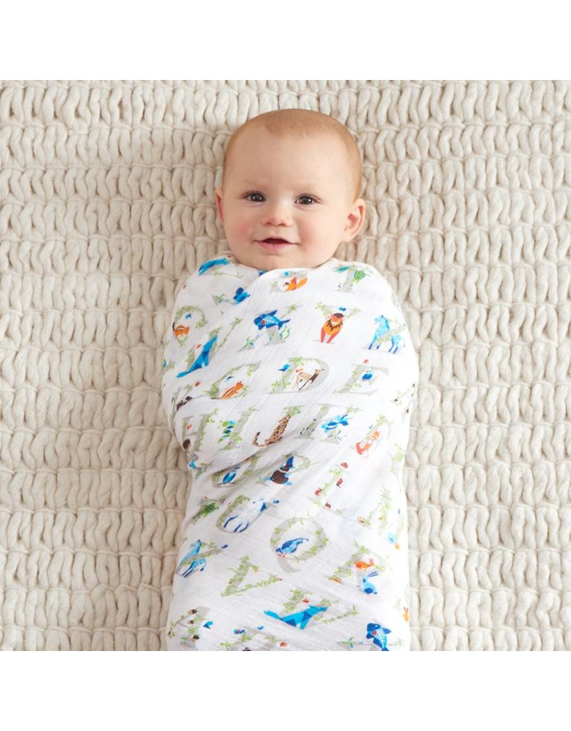 Aden + Anais A+A Classic Swaddle Blankets- Paper Tales