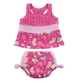 iPlay iPlay Tankini Swim Diaper Set