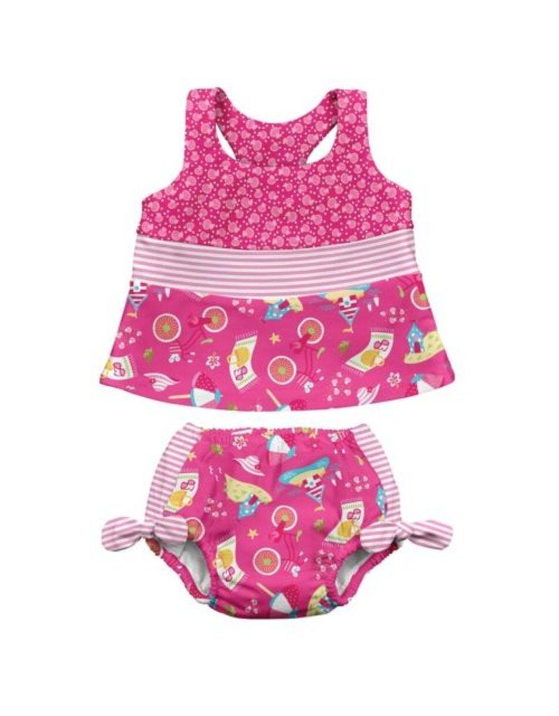 iPlay iPlay Tankini Swim Diaper Set