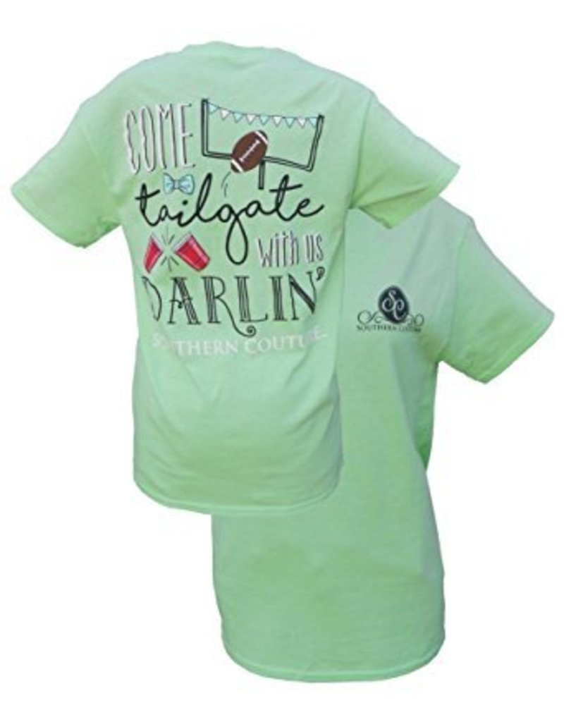 Southern Couture Southern Couture Short Sleeve Tee- Tailgate with Us