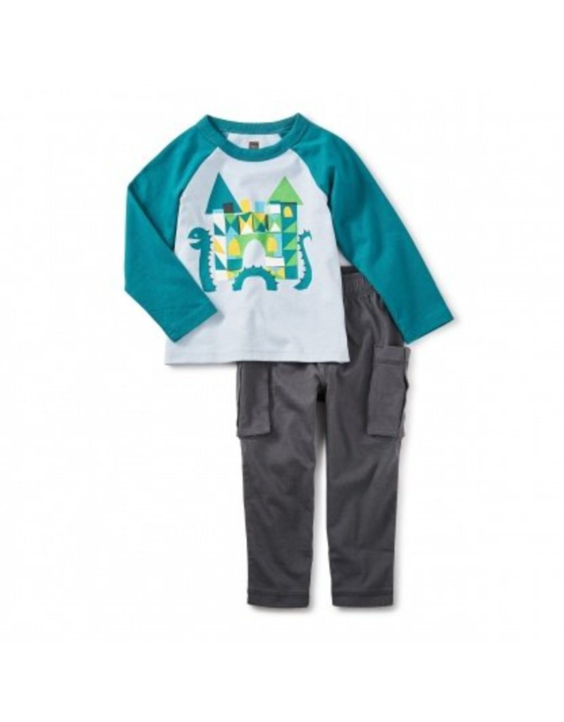 tea collection Tea Collection Loch Ness Baby Outfit
