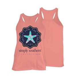SS Simply Southern Tank- Star