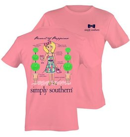 SS Simply Southern S/S Tee- Ginger