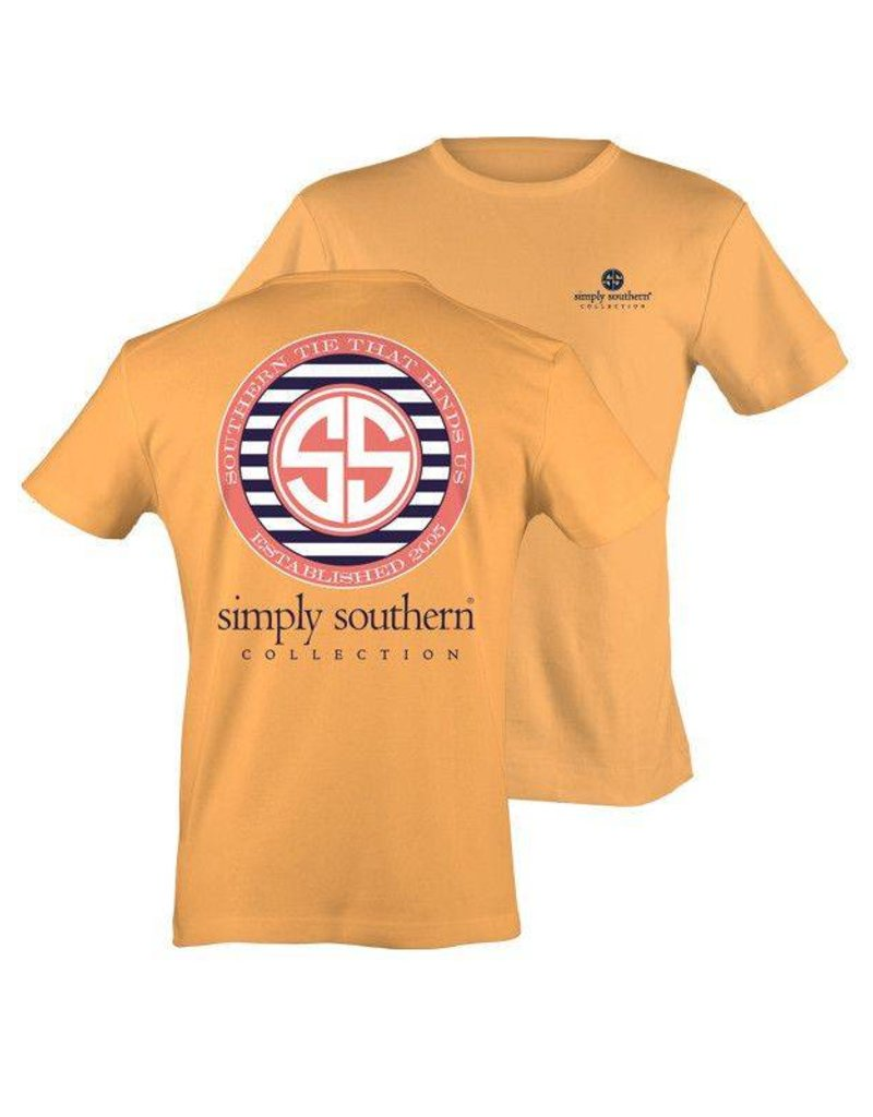SS Simply Southern S/S Tee- Lines