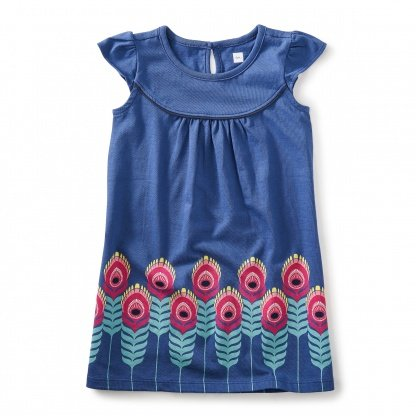 tea collection Tea Collection Feather Graphic Dress