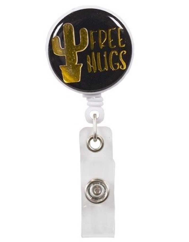 SS Simply Southern Badge Reel- Free Hugs