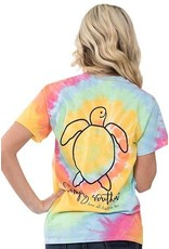 SS Simply Southern Short Sleeve Tie Dye Tee- Save Logo