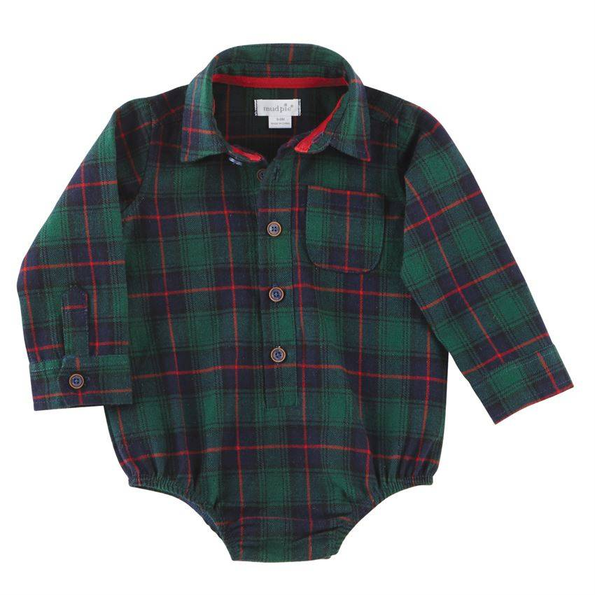 Mudpie Blackwatch Plaid Crawler