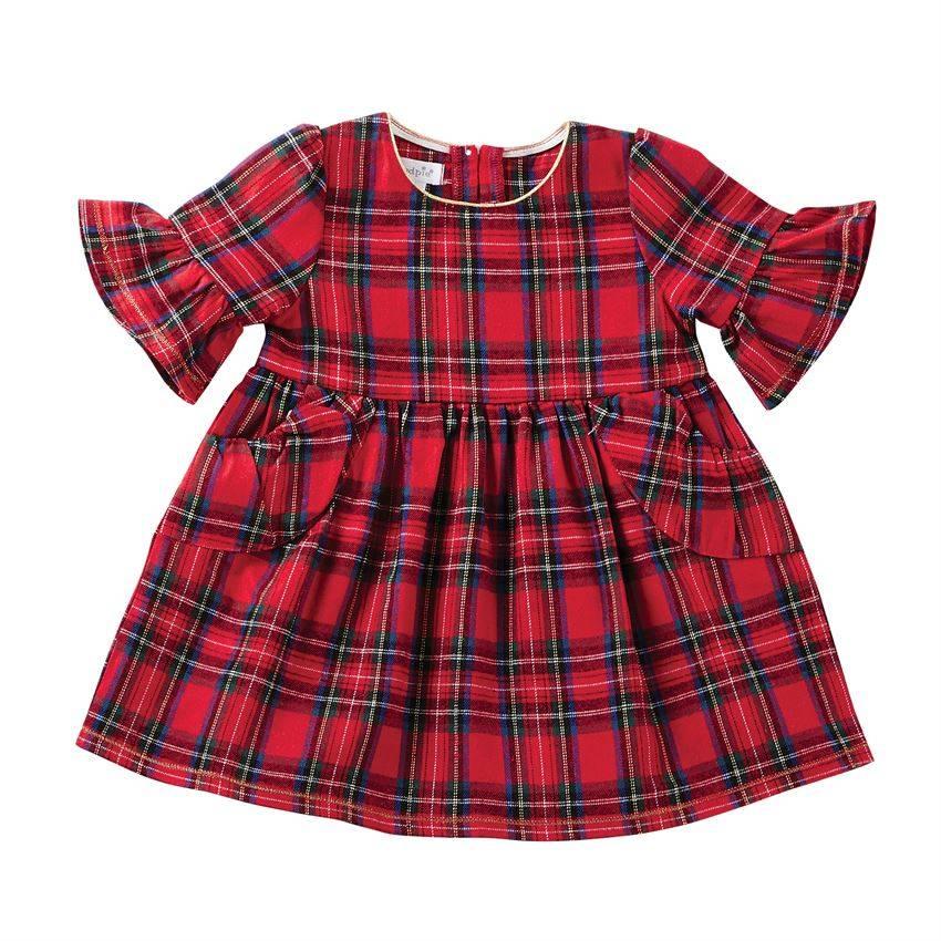 Mudpie Mini Tartan Plaid Dress