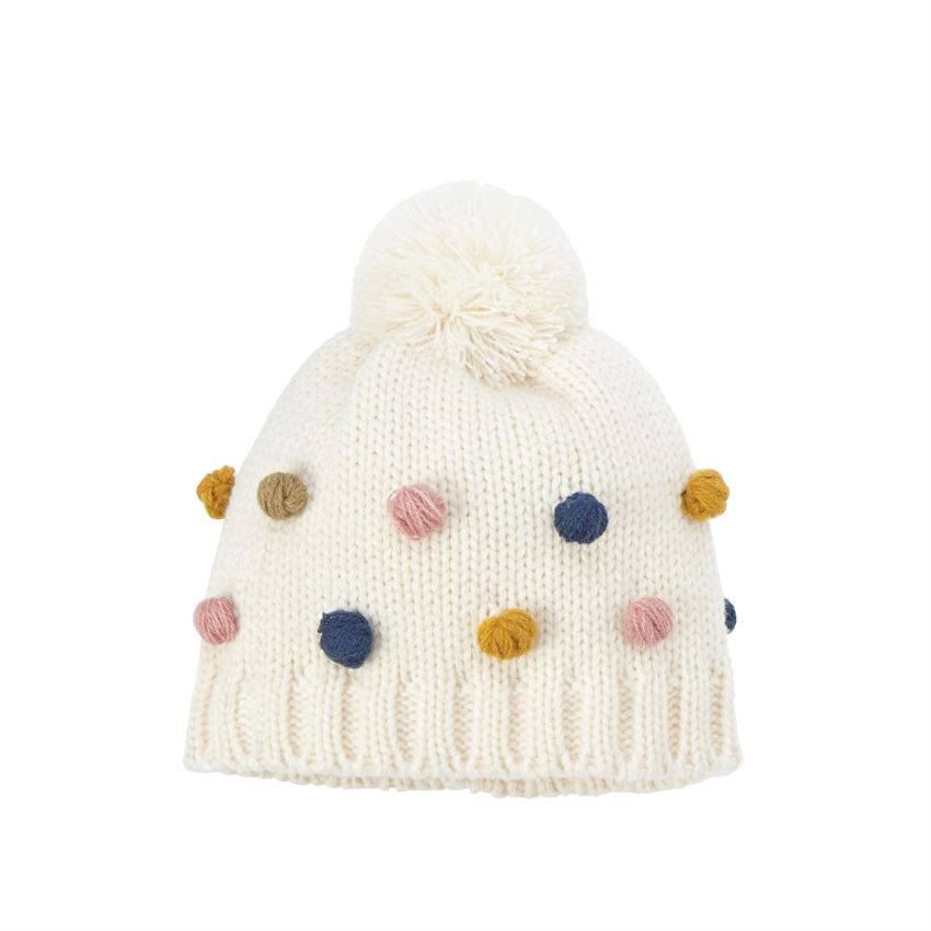 Mudpie Pom-Pom Knitted Hat