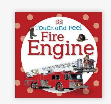 Penguin Random House Touch & Feel Fire Engine