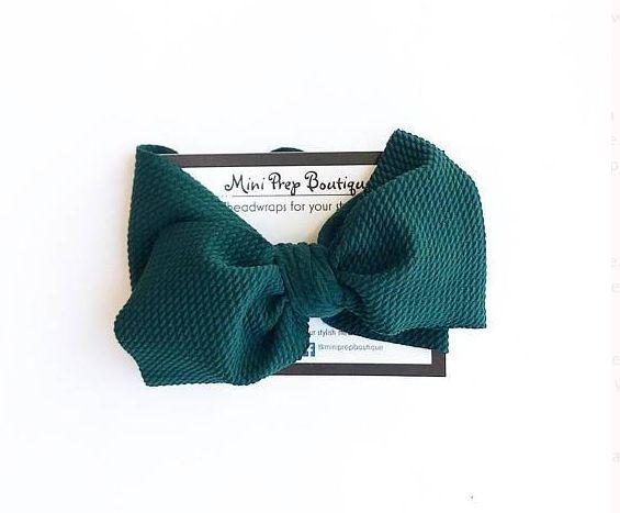 Mini Prep Boutique Hunter Bow