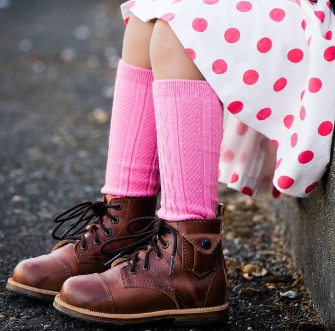 Little Stocking Company Bubblegum Knee High Socks