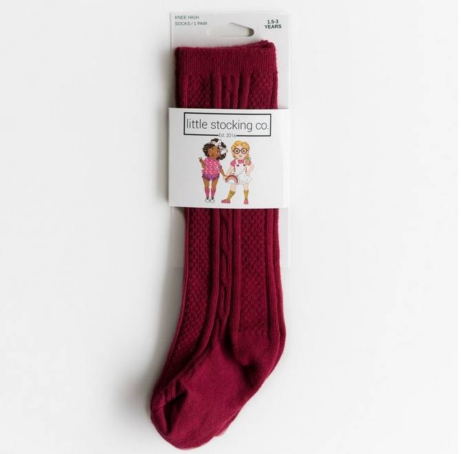 Little Stocking Company Ruby Knee High Socks
