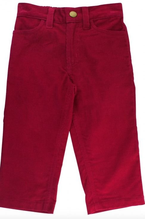 Ruffle Butts Mulberry Corduroy Pants