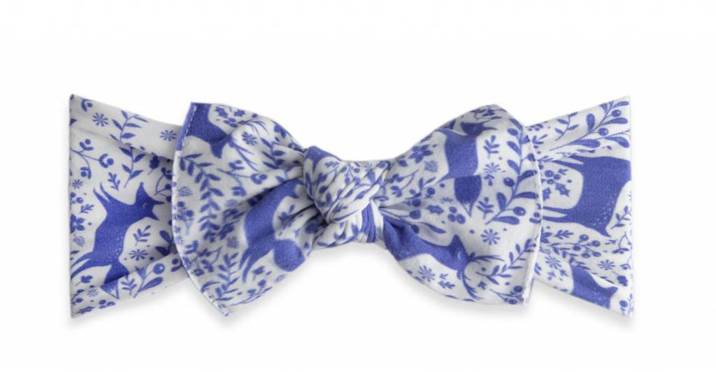 Baby Bling Printed Knot Deer Toille