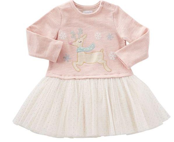 Mudpie Reindeer Dazzle Tutu Dress
