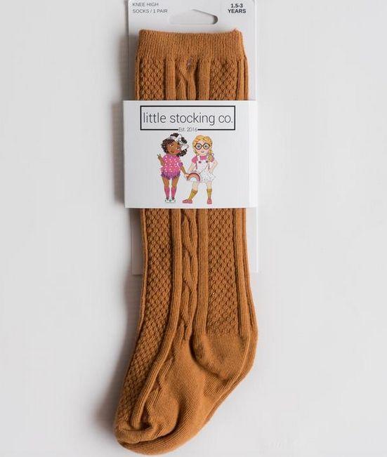 Little Stocking Company Honey Ginger Knee High Socks